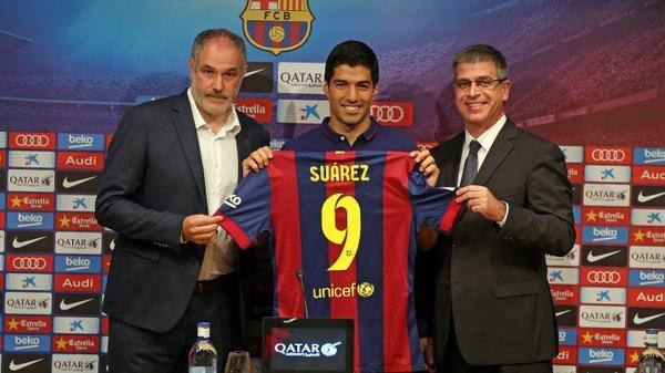 Suárez, sobre los mordiscos: «He tratado con profesionales adecuados»