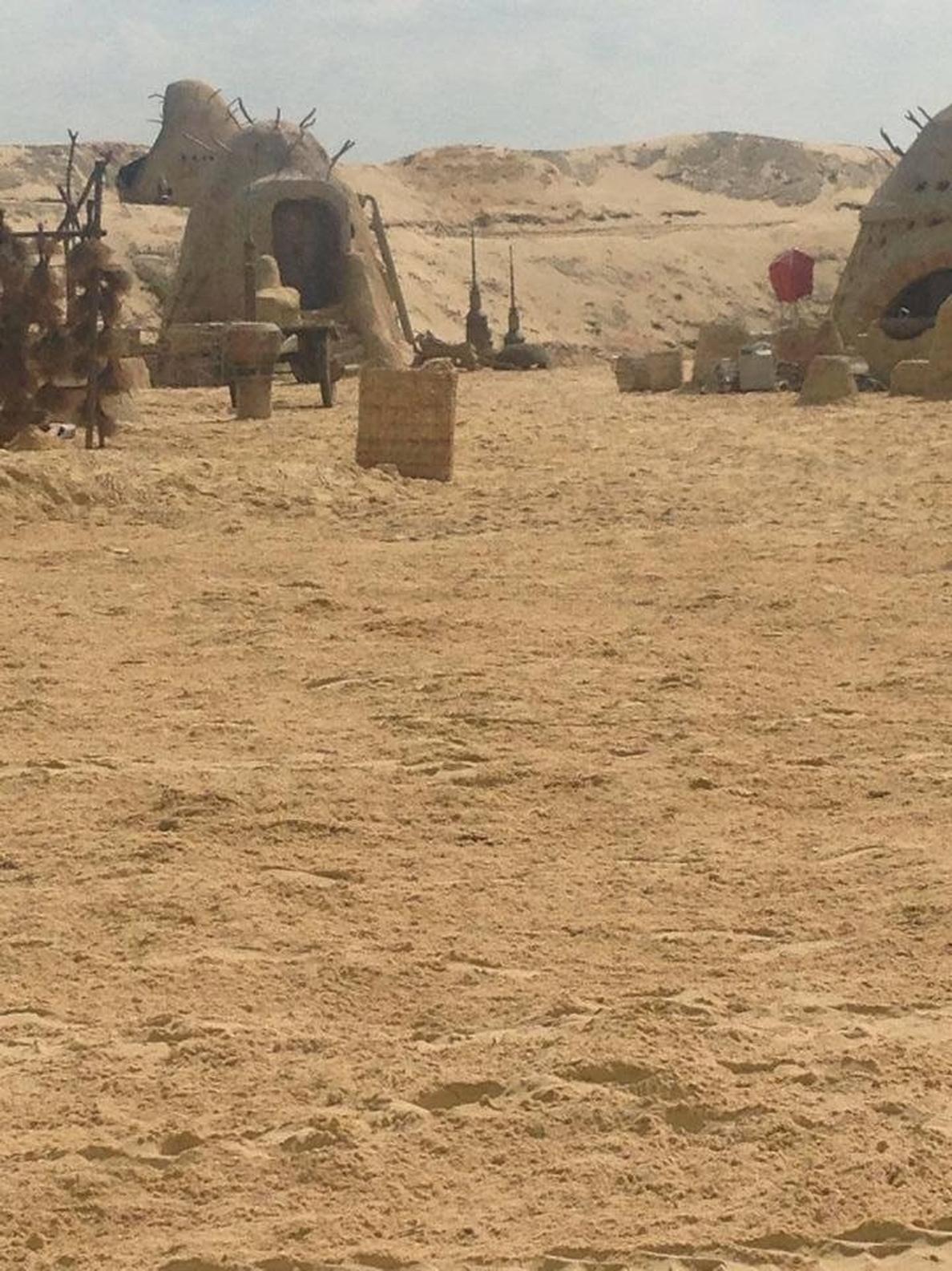 Así es Tatooine en Star Wars VII