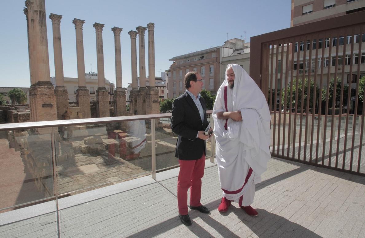 El Templo Romano celebra este martes distintas actividades en conmemoración a Octavio Augusto