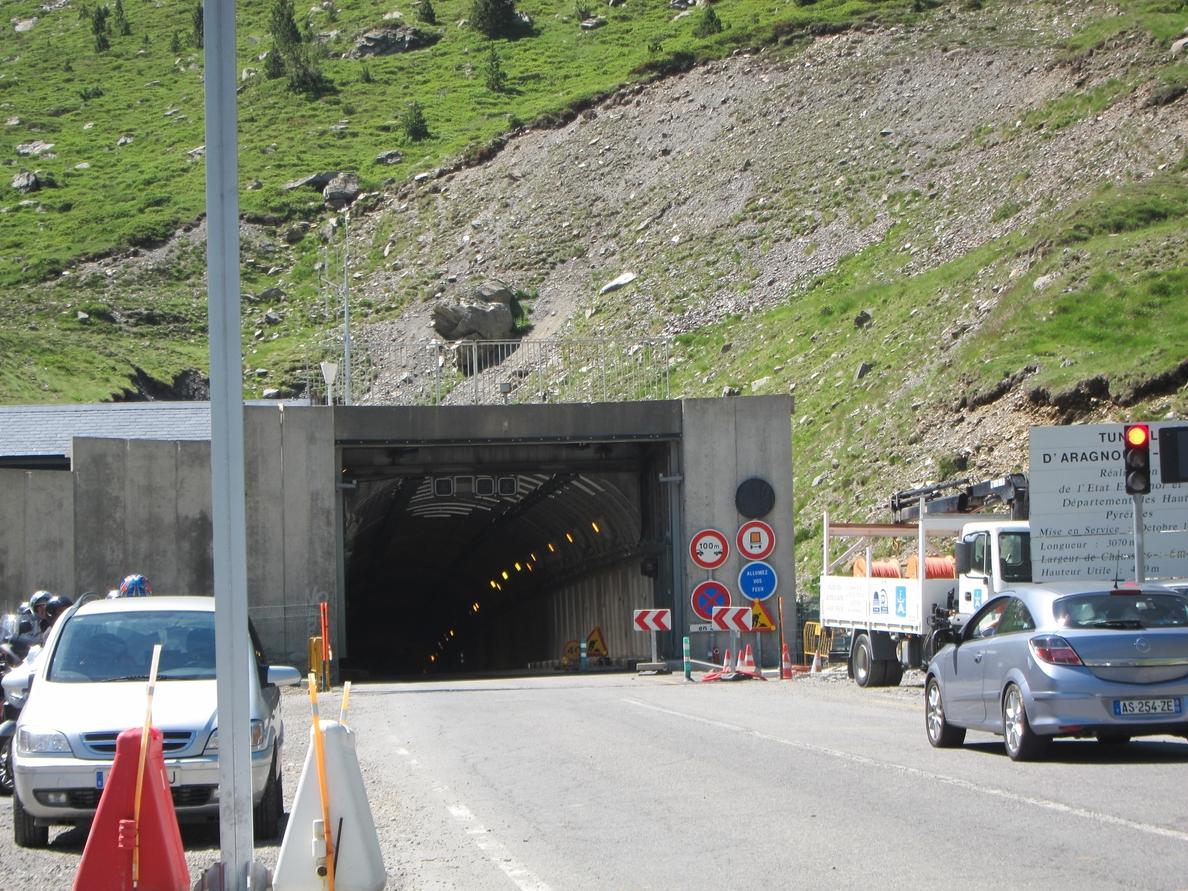 El Túnel de Bielsa permanecerá cerrado las noches del miércoles 20 de agosto y del jueves 21 de agosto
