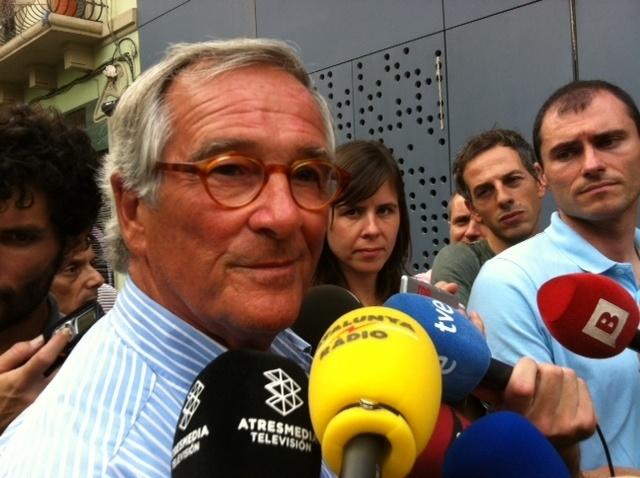 Xavier Trias recomienda «discreción» al PP con el »caso Pujol» dados sus propios «errores gravísimos»