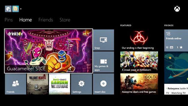 Xbox One recibirá próximamente nuevas funciones sociales y de entretenimiento