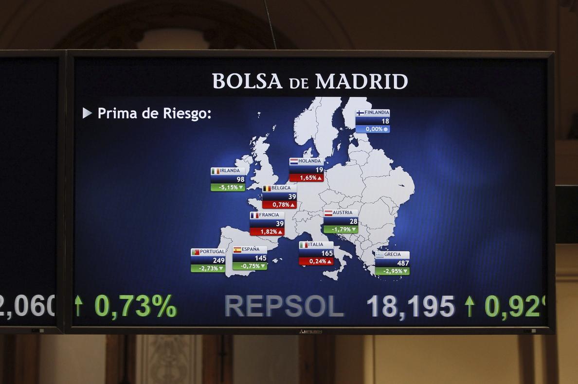 La prima de riesgo española abre sin cambios, en 144 puntos básicos