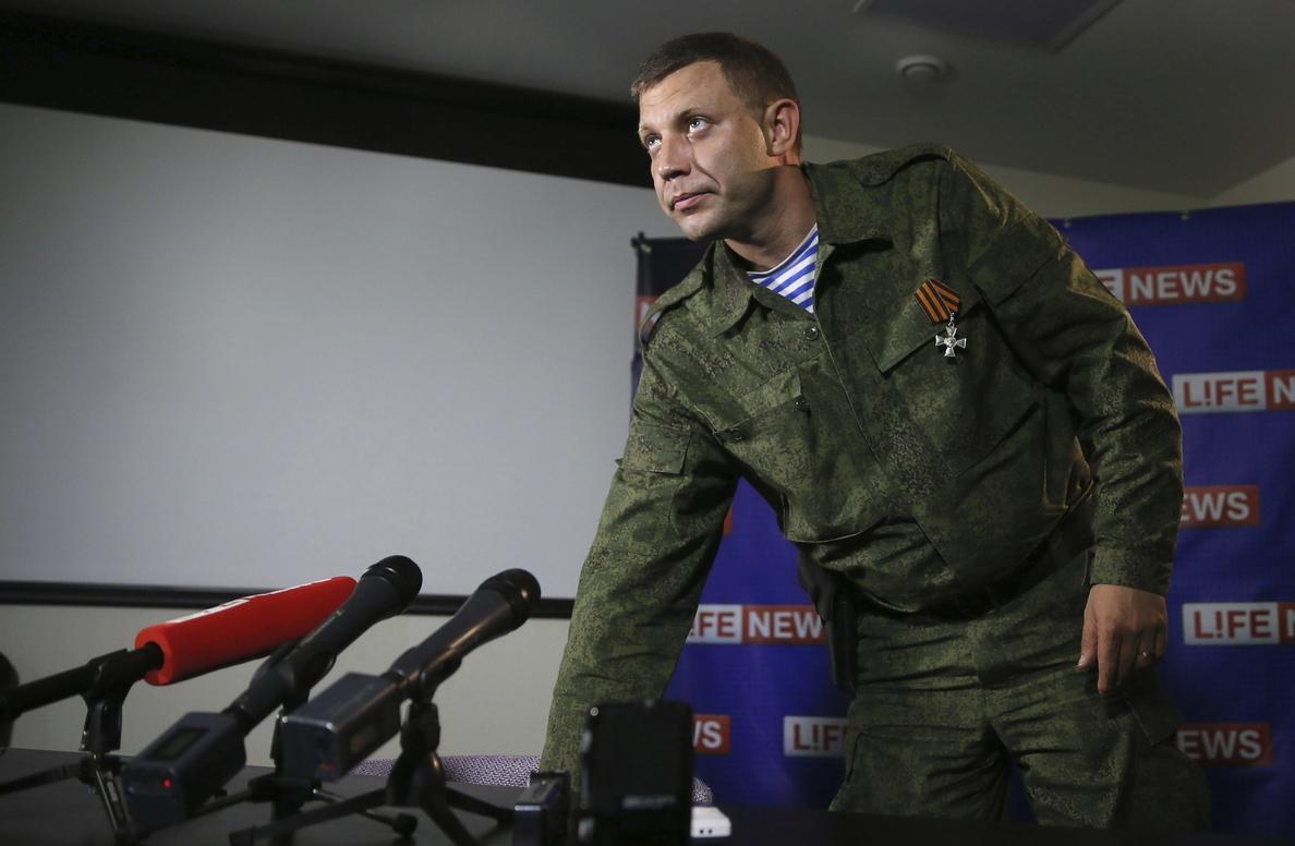 Los separatistas, dispuestos a negociar con Kiev sólo en igualdad