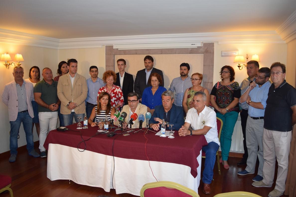 Los socialistas del norte de Tenerife muestran su rechazo a la privatización del Aeropuerto de Los Rodeos