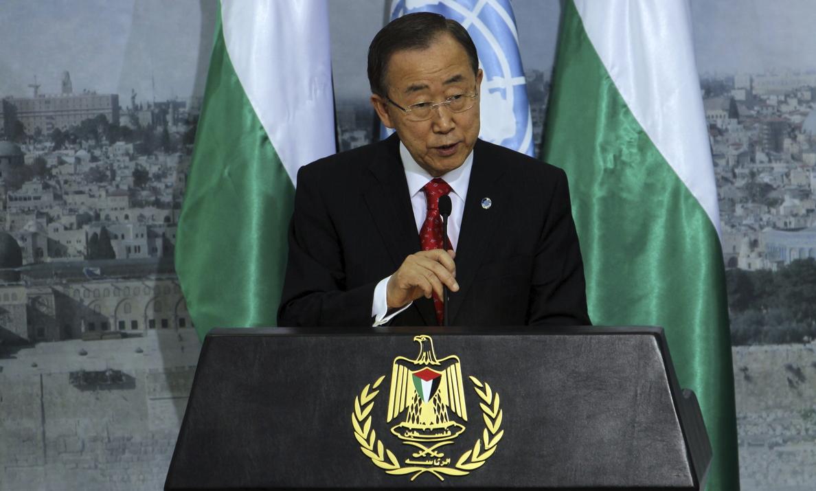 Ban Ki-moon profundamente decepcionado por la ruptura de la tregua en Gaza