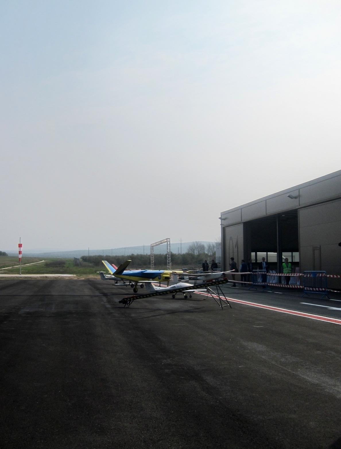 El Centro Atlas acoge este miércoles el «primer vuelo fuera de vista en España» con una aeronave no tripulada