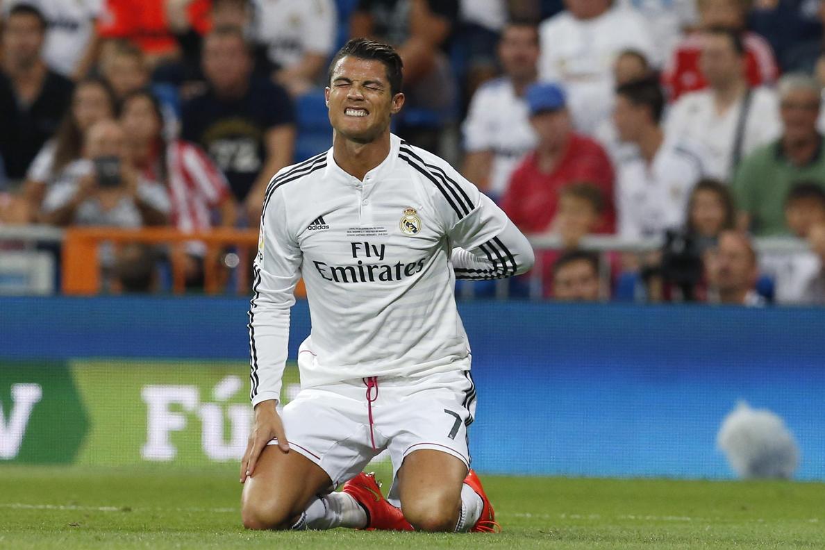 Cristiano no puede continuar su racha goleadora en la Supercopa de España