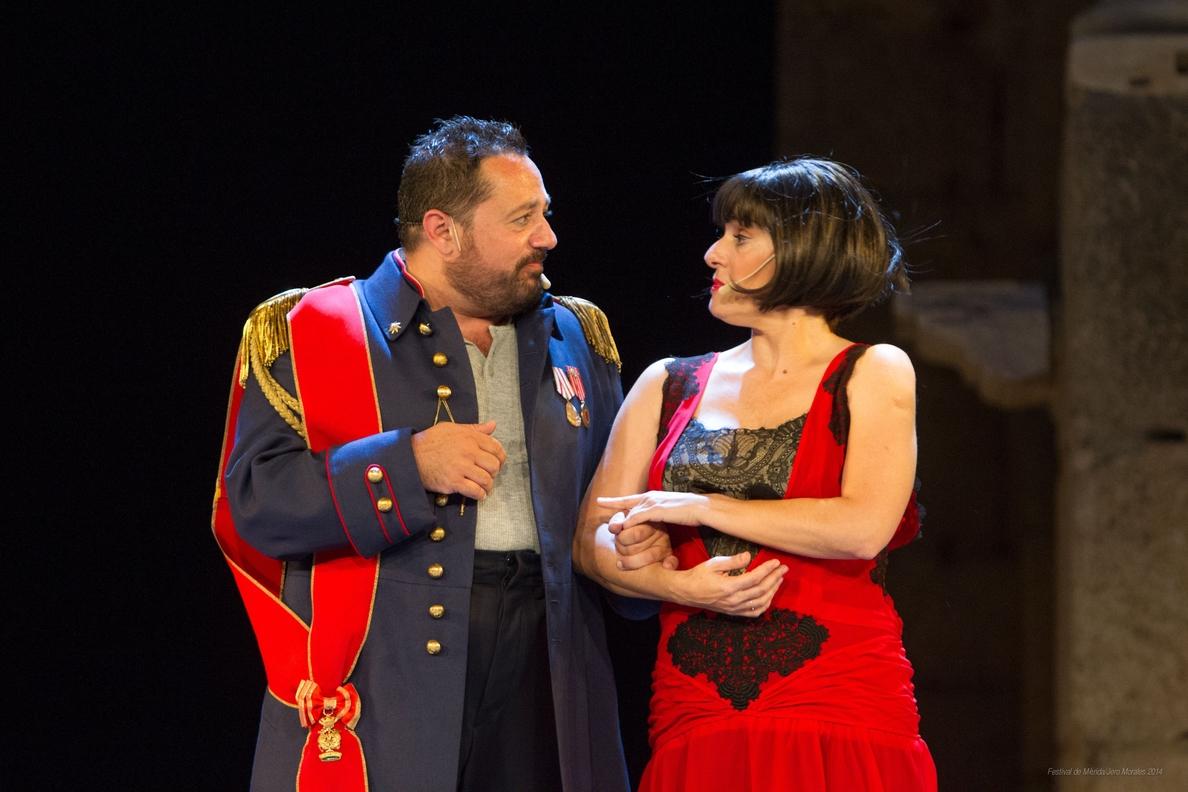 »El Eunuco» protagonizado por Anabel Alonso, Pepón Nieto y Alejo Sauras llega este miércoles a Sagunt a Escena