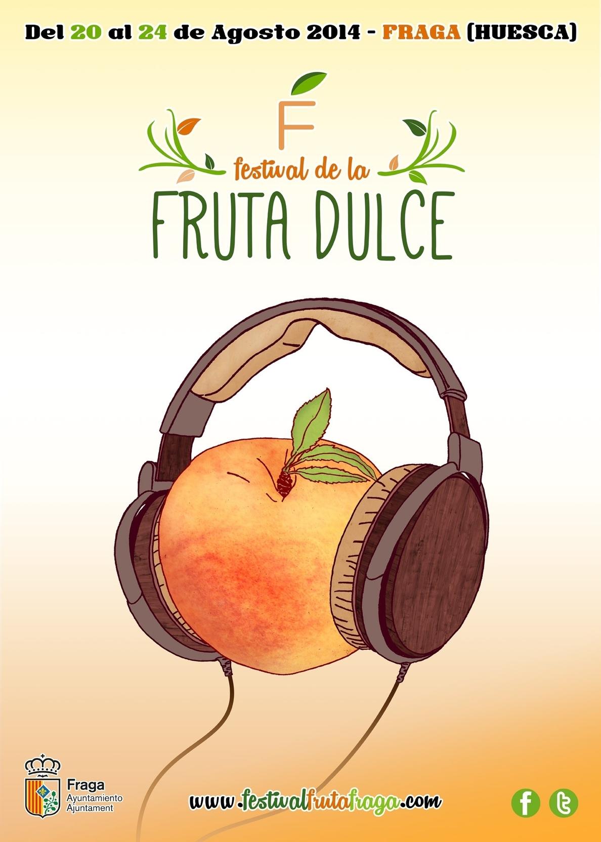 El Festival de la Fruta Dulce de Fraga arranca este miércoles con un pasacalles frutal