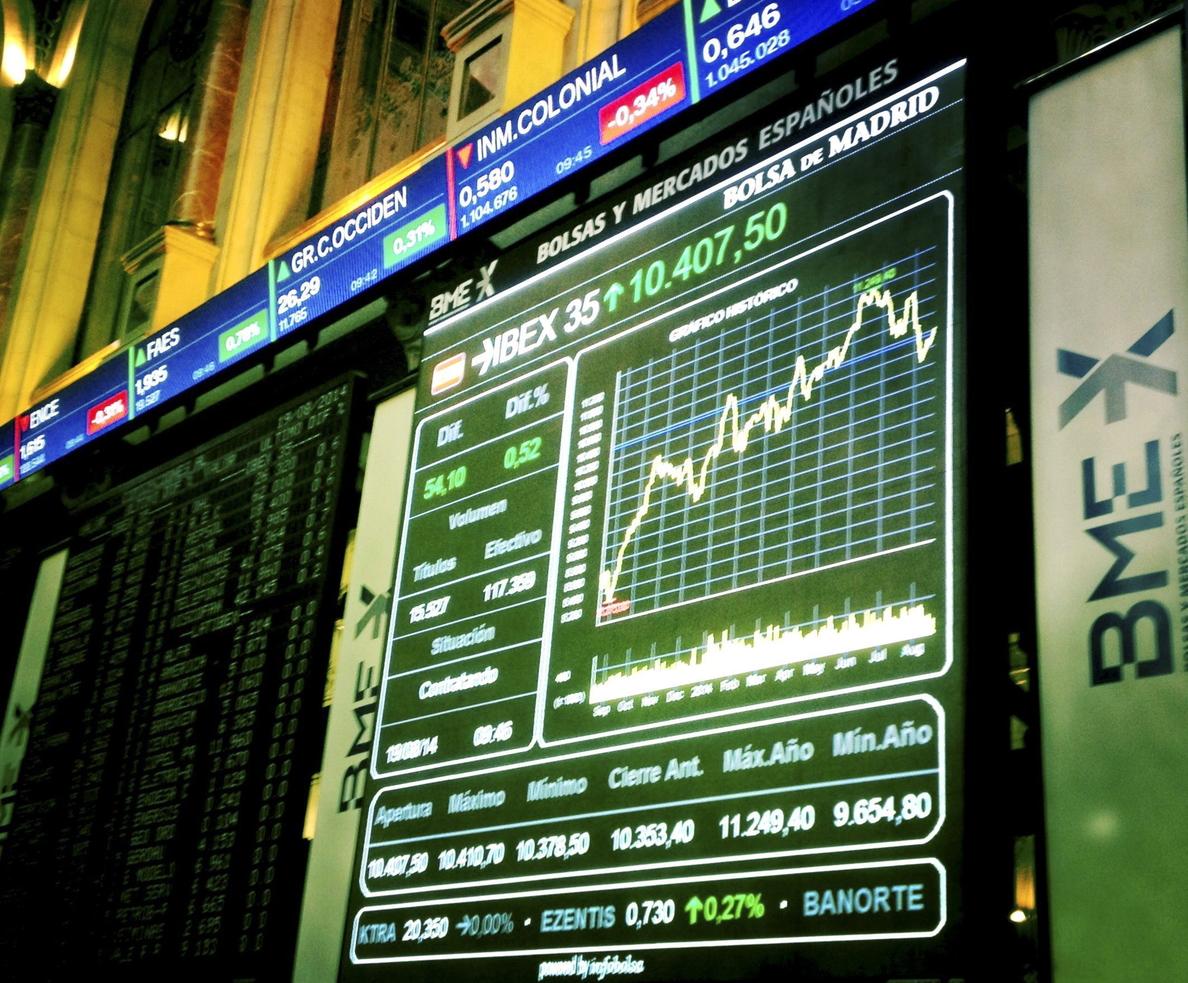 El IBEX abre con un recorte del 0,03 por ciento y queda en 10.384 puntos