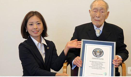 Un japonés de 111 años se convierte en el hombre más longevo del planeta