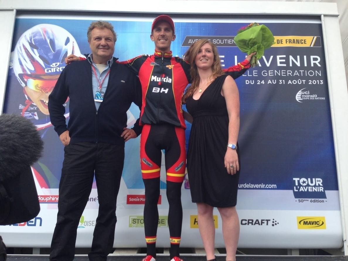 El Movistar Team ficha a Rubén Fernández, ganador del Tour del Porvenir
