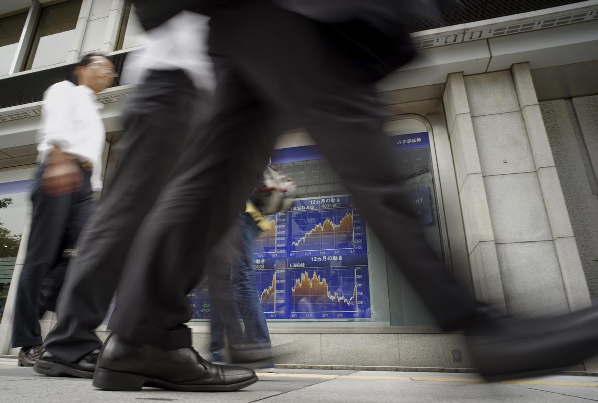 El Nikkei sube un 0,21 por ciento hasta los 15.482,83 puntos