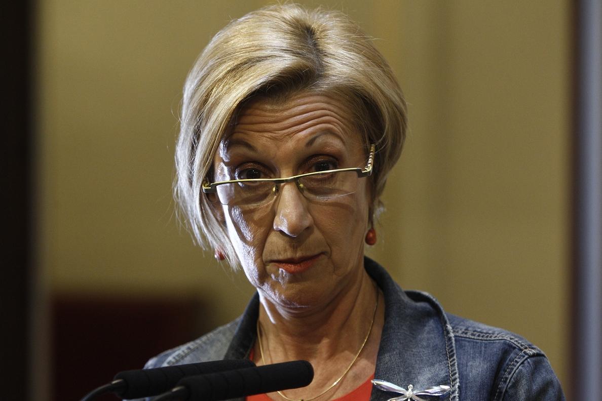 Rosa Díez se declara «sorprendida» por la propuesta de Sosa Wagner y «dolida» por «falsas e injustas imputaciones»