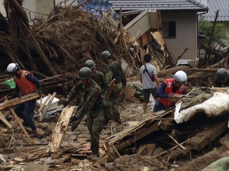 Veintisiete muertos y 10 desaparecidos por las lluvias torrenciales en Japón
