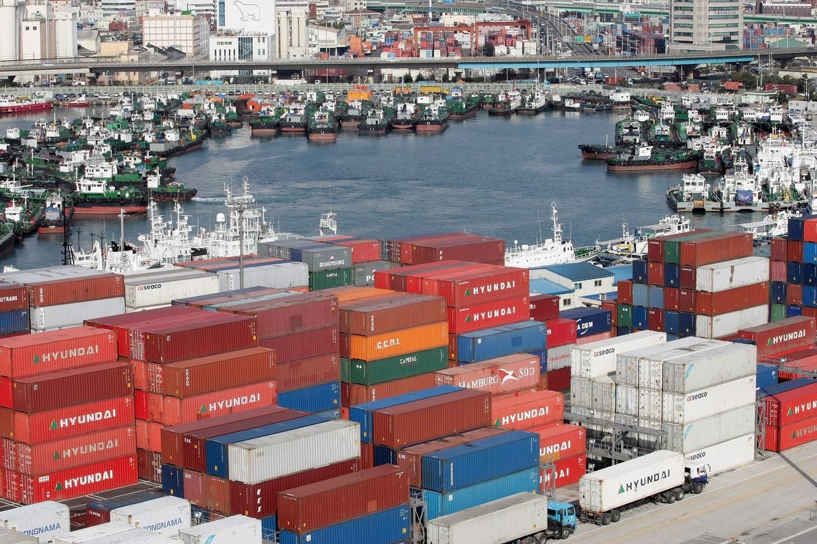 Las exportaciones a Corea del Sur se disparan un 85,5 % en enero-junio