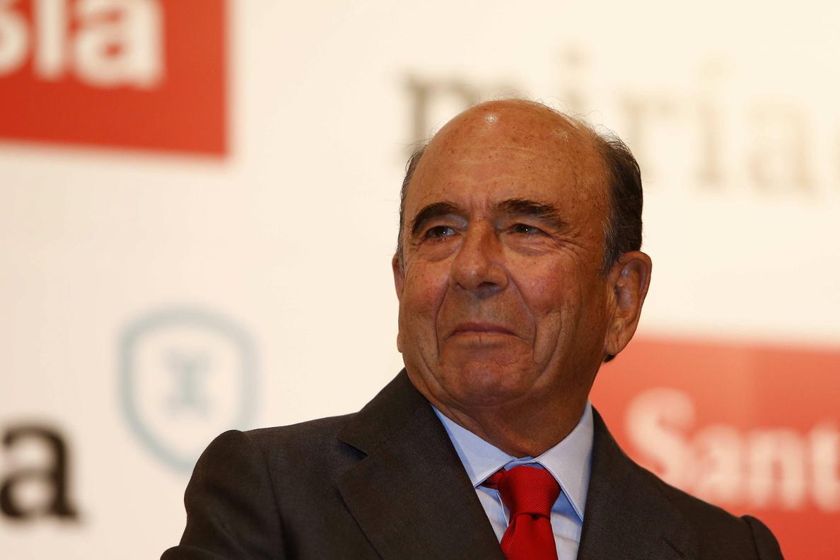 El presidente del Santander, Emilio Botín, fallece a los 79 años