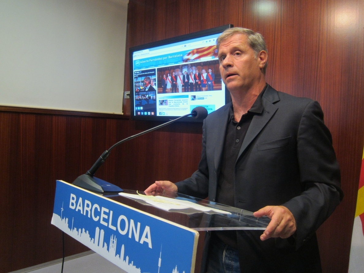 Alberto Fernández (PP) cree que la sentencia de Spanair es una «condena política» a Trias