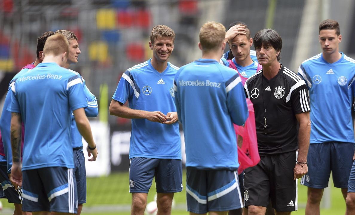 Alemania y Argentina siguen en cabeza, Colombia es tercera y España octava