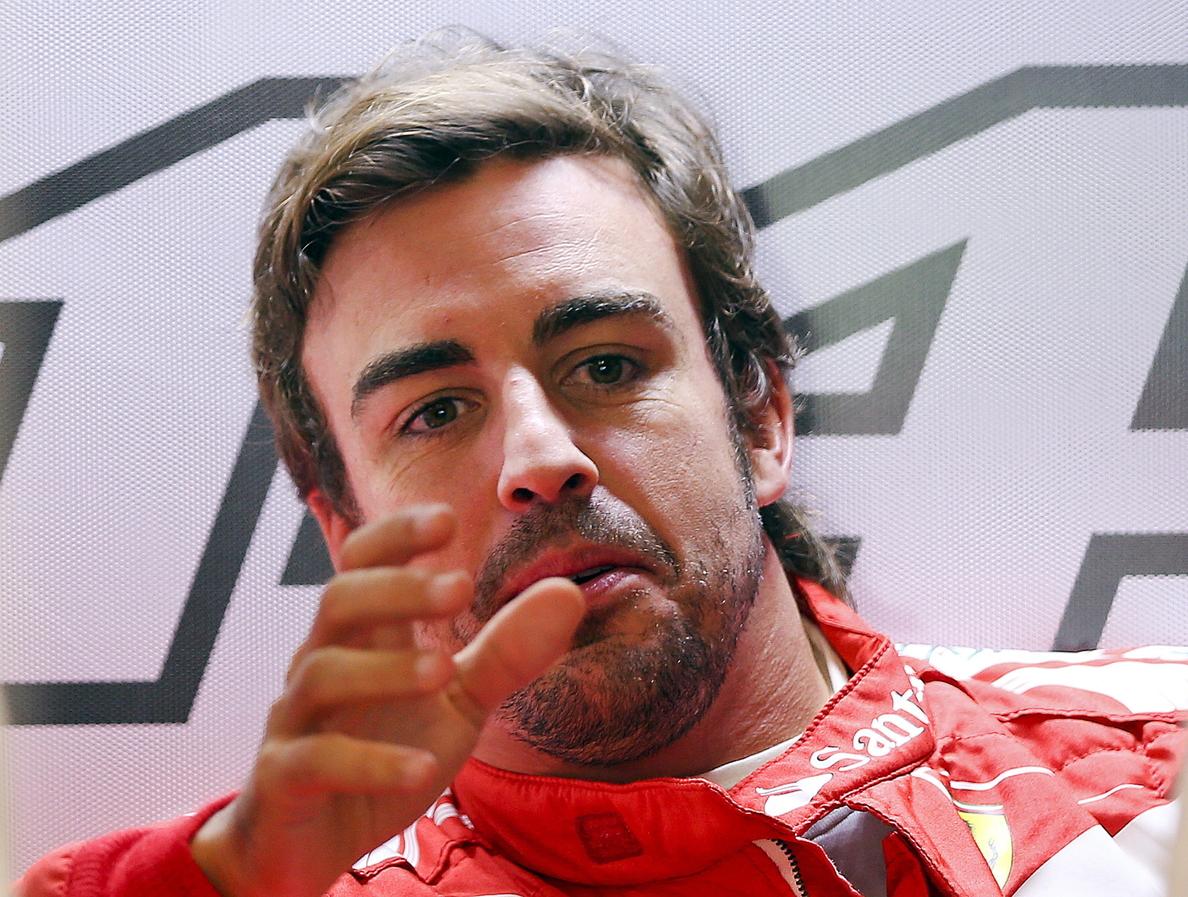 Fernando Alonso, harto de las filtraciones que le colocan fuera de Ferrari