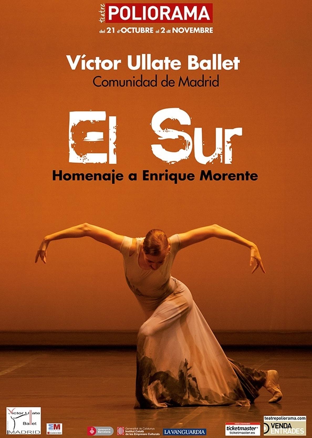 El Ballet de Víctor Ullate homenajeará a Enrique Morente con »El Sur» en el Poliorama