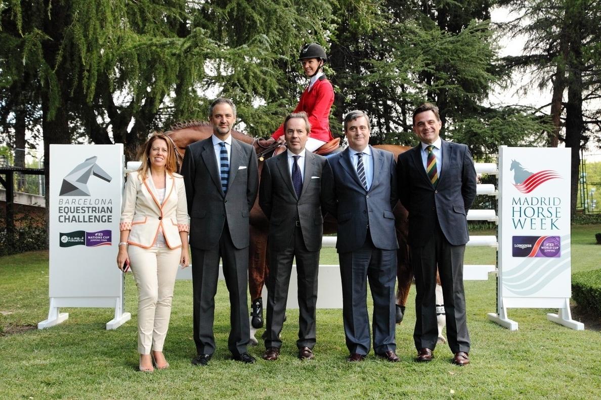 La Barcelona Equestrian Challenge y Madrid Horse Week tendrán un impacto de 200 millones en España