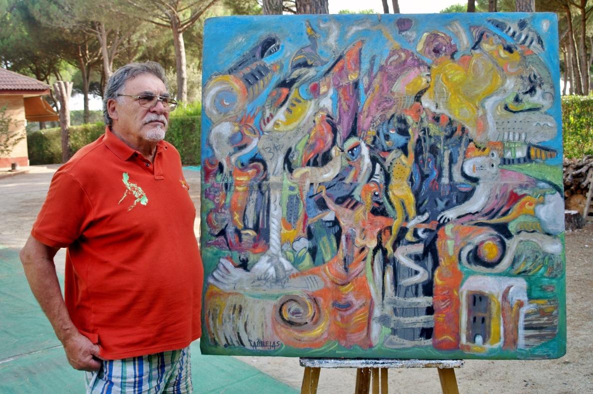 Cabrejas exhibe desde mañana sus »Seres y demonios» en la Sala Cultural y de Exposiciones de Pedrajas (Valladolid)