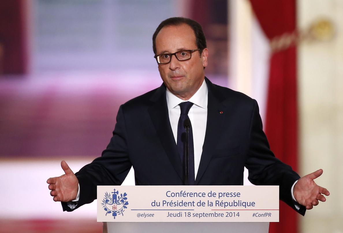 Hollande advierte contra la «disolución» del proyecto europeo