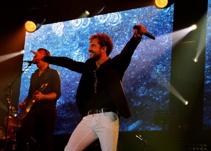 David Bisbal ofrece un concierto este viernes en Granada dentro de su gira »Tú y yo»