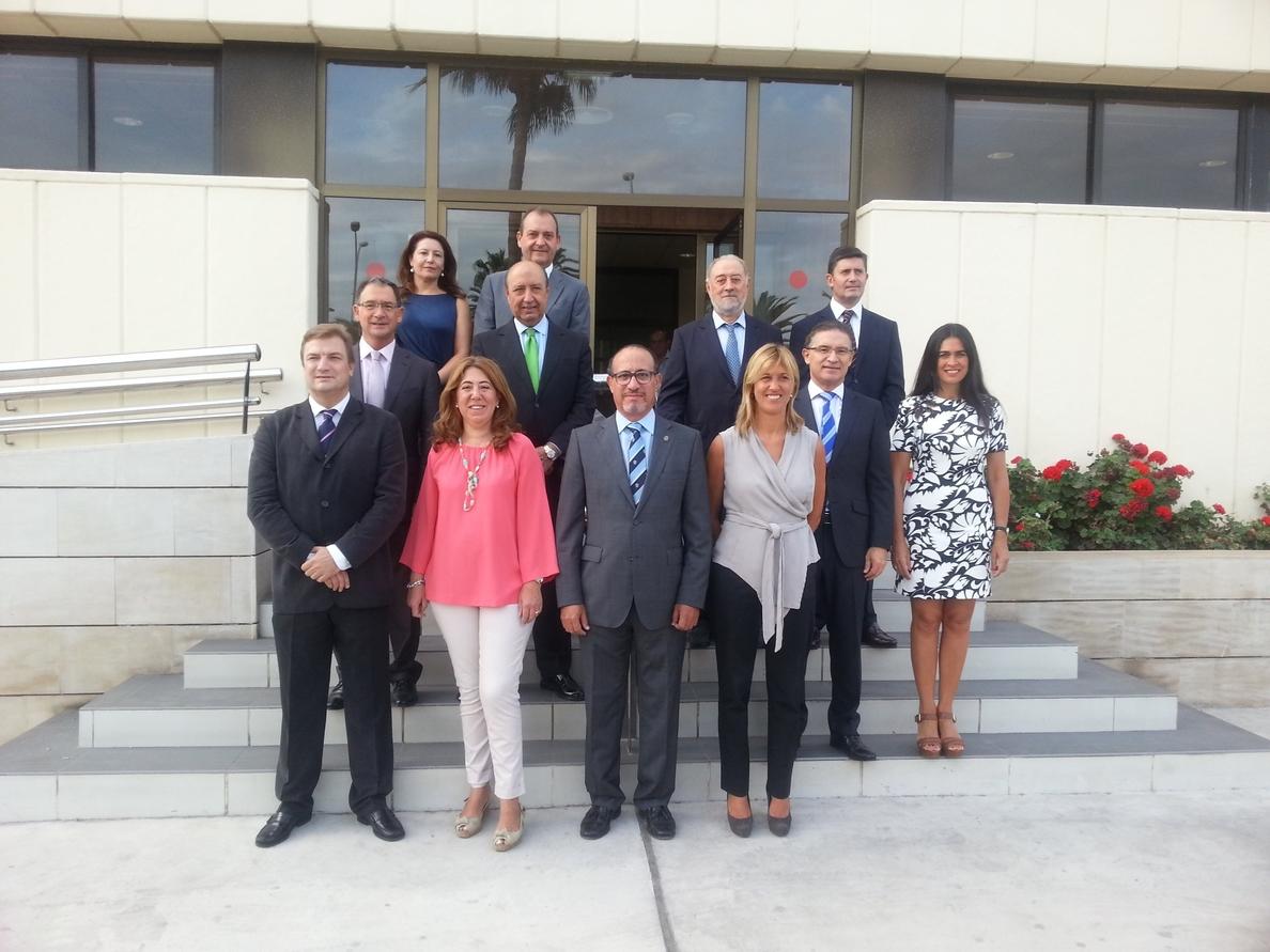 Delegados del Gobierno dan su «apoyo y cooperación» al pueblo de Melilla ante la inmigración ilegal