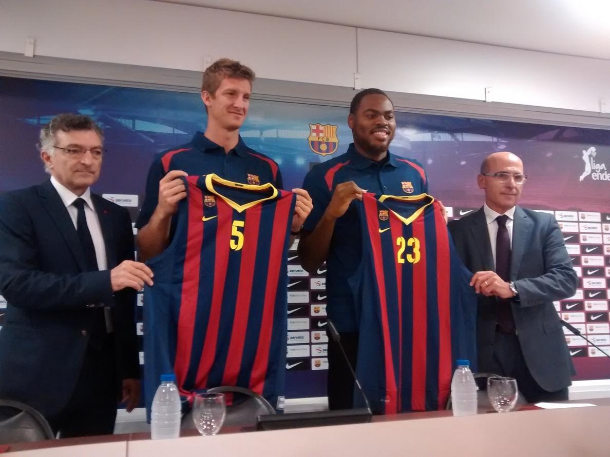 Doellman: «Jugar en el Barcelona es un sueño hecho realidad»
