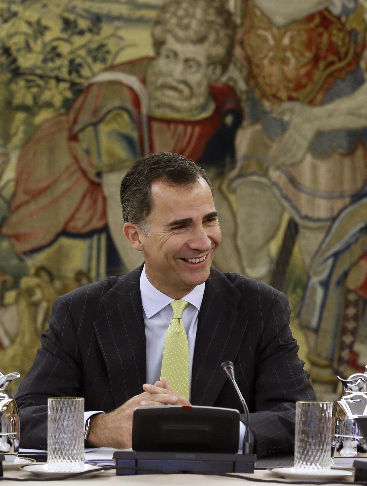 Felipe VI iniciará en octubre una ronda de audiencias con los presidentes autonómicos