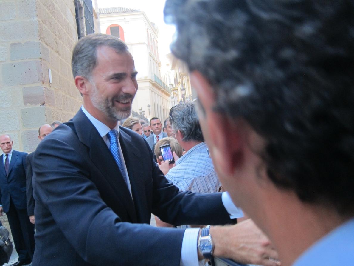 Imbroda pide al Rey Felipe VI que visite Melilla como hizo Don Juan Carlos en 2007