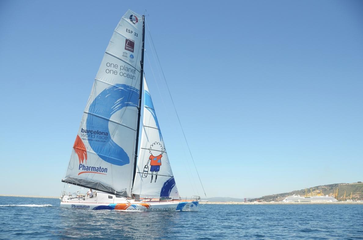 El »One Planet, One Ocean» se viste de largo para la »Barcelona World Race»