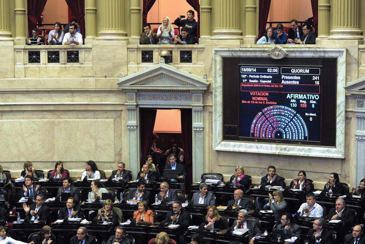 El Parlamento argentino aprueba la Ley de Abastecimiento tachada de inconstitucional