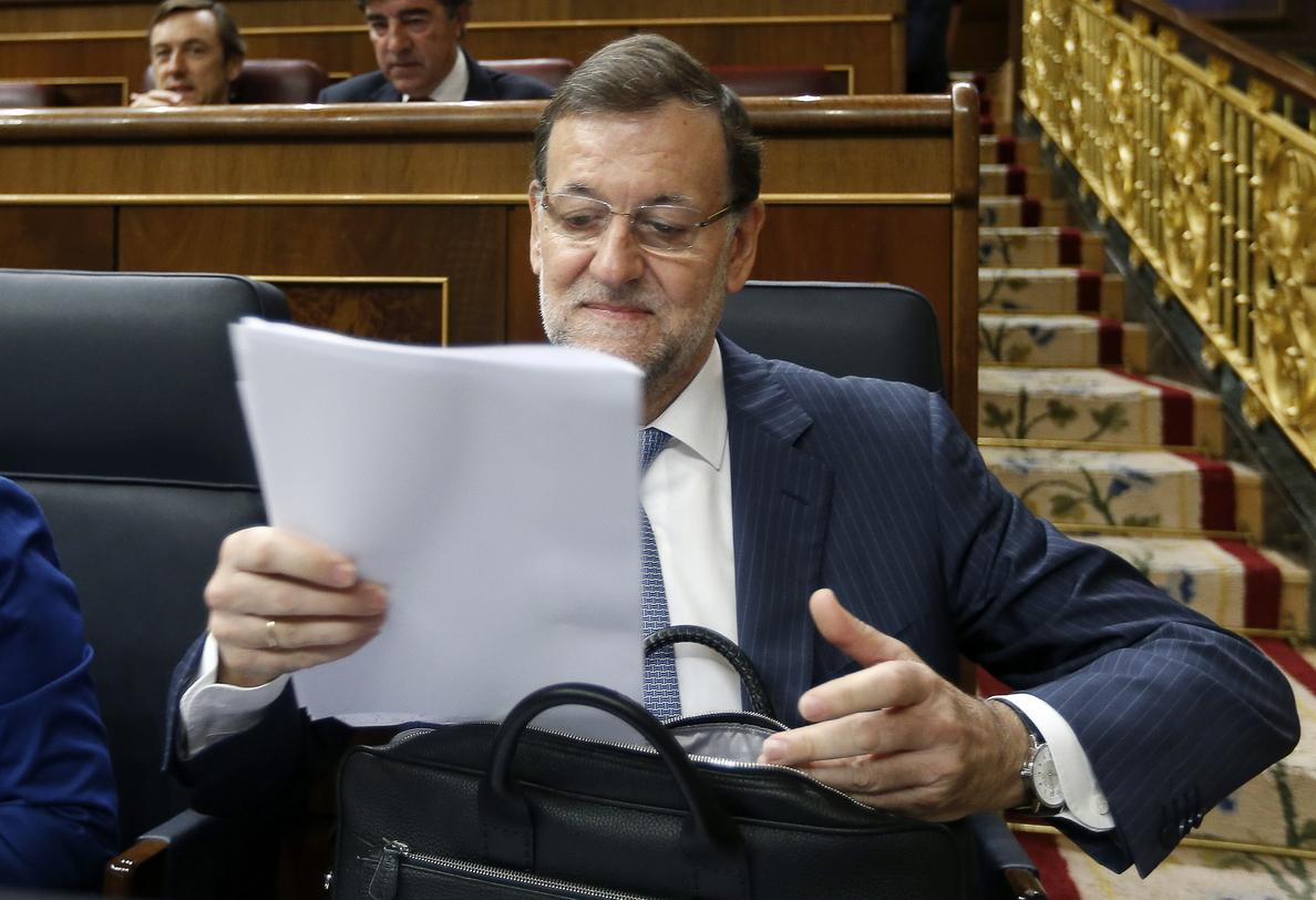 Rajoy anuncia un ahorro de 10.417 millones en las administraciones hasta junio