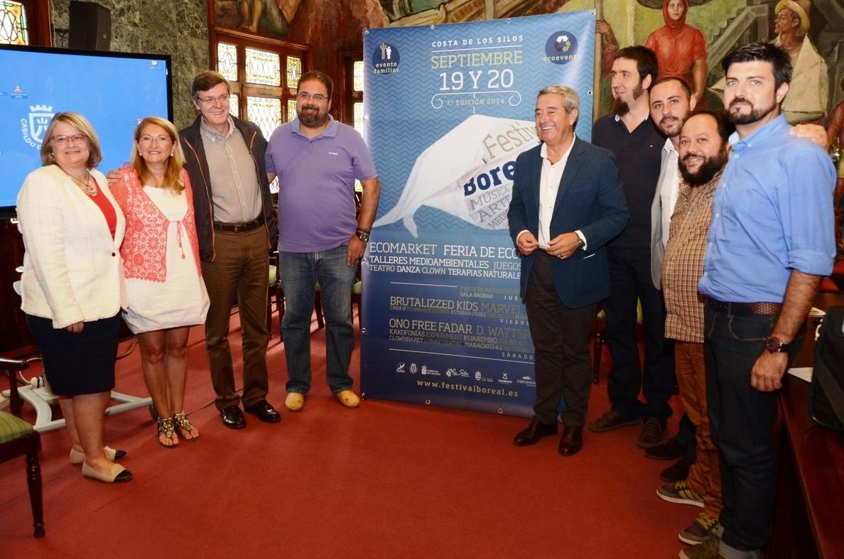 El »VII Festival Boreal» unirá en Los Silos (Tenerife) arte y medio ambiente