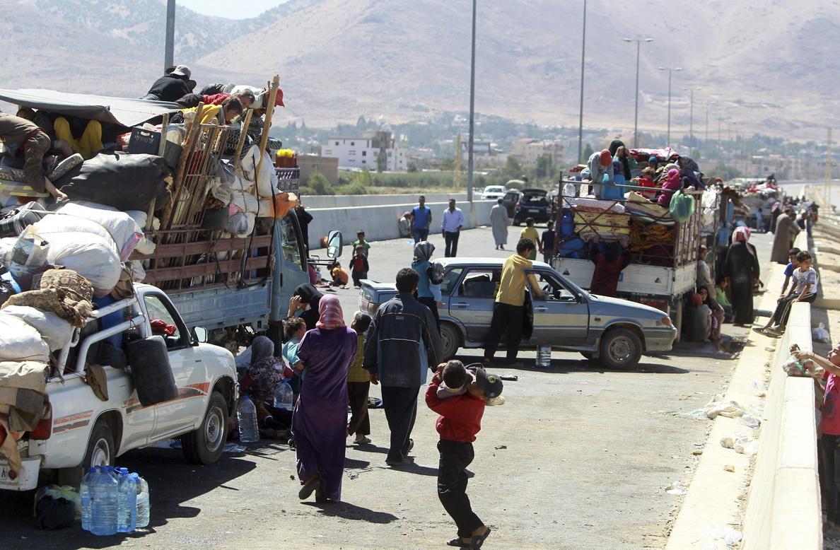 El difícil equilibrio entre libaneses y refugiados sirios en Deir al Ahmar