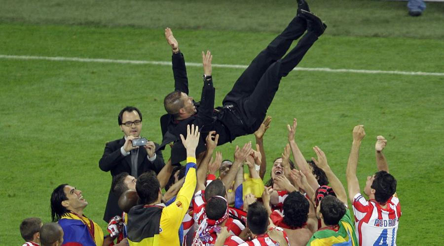 Simeone cumple 1.000 días en el Atlético, tiempo en el que ha ganado más títulos que el Real Madrid