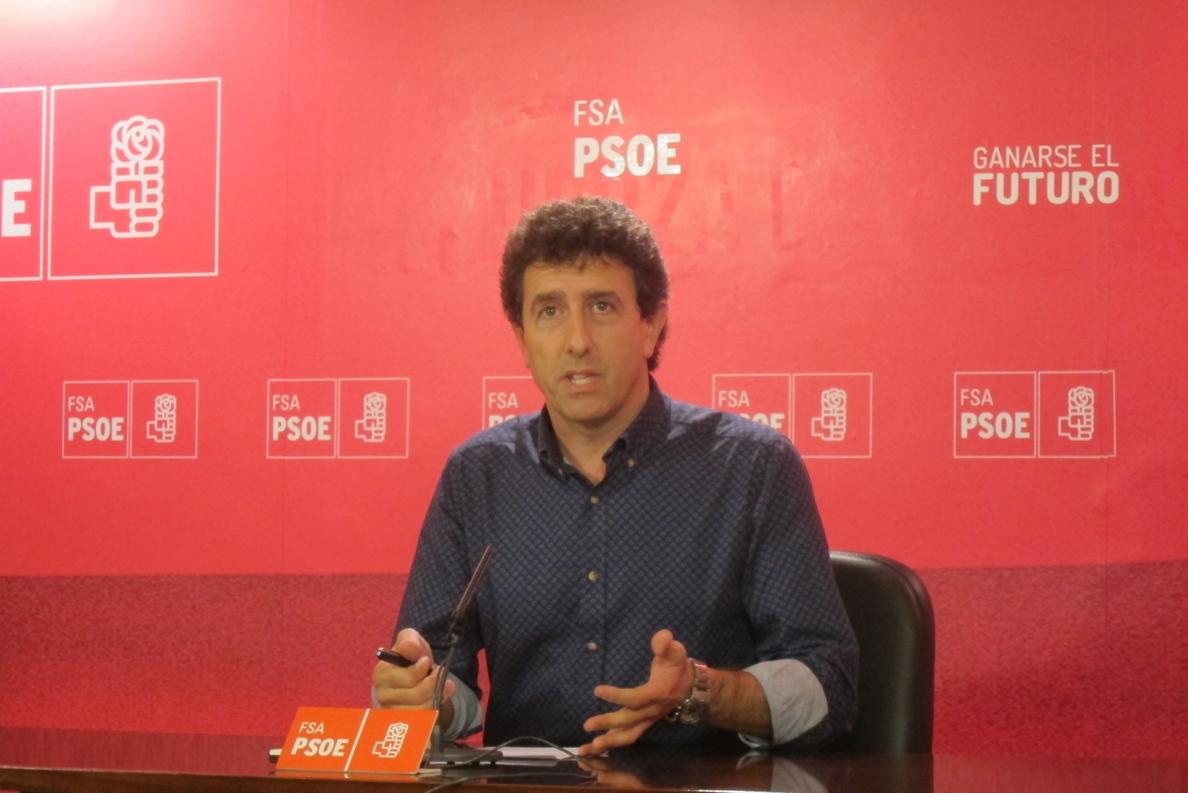 «Una cosa es predicar y otra dar trigo», dice Jesús Gutiérrez (PSOE) sobre Podemos