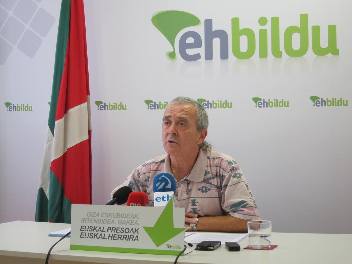 Amaiur cree que no se debe decir «amén» a la actitud «cerril» del Gobierno de PP en los casos vasco y catalán