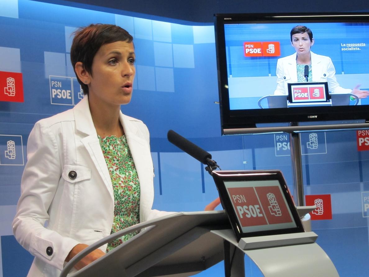 Chivite (PSN) se compromete en un decálogo a «defender el autogobierno, la ética pública y el bien común»