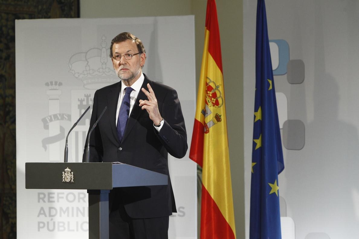Declaración íntegra de Mariano Rajoy sobre el referéndum