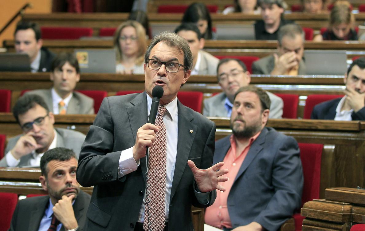 El Parlament aprueba hoy la ley de consultas con la que Mas convocará el 9N