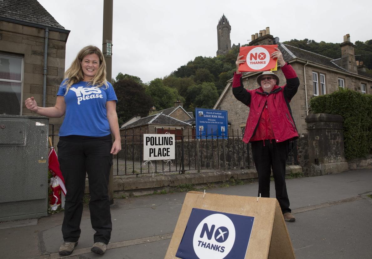 El «sí» suma su primera victoria en Dundee