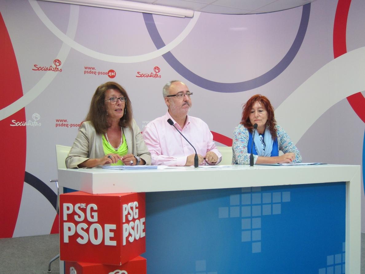 Los socialistas gallegos piden que Feijóo envíe un «informe» al Gobierno que pare definitivamente la reforma