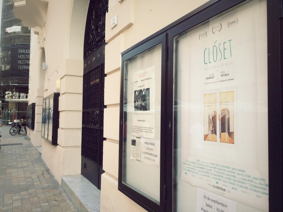 El cine Albéniz proyectará el cortometraje »Clóset» del malagueño Rakesh B. Narwani