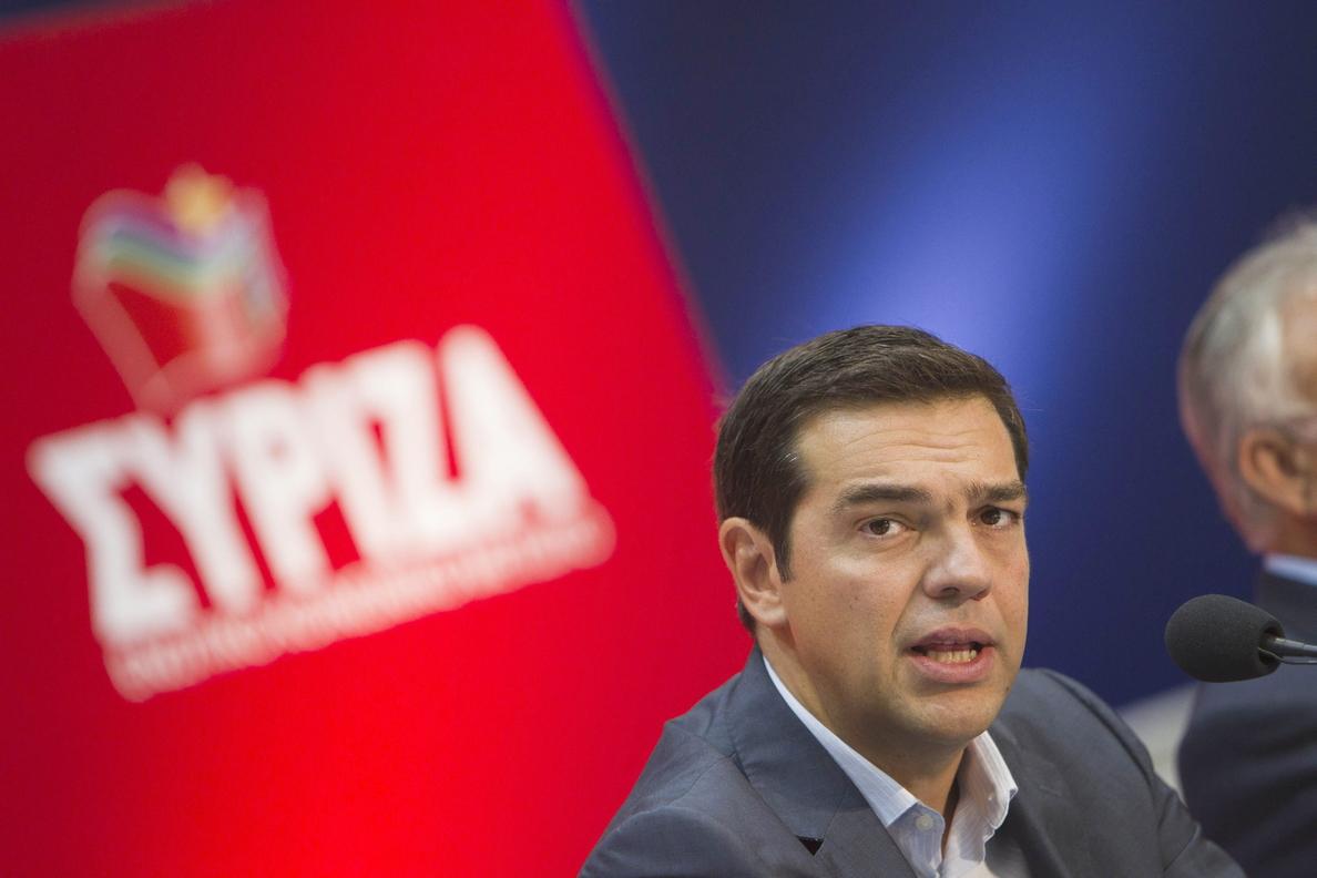 La coalición de izquierda radical Syriza ganaría las elecciones en Grecia, según un sondeo