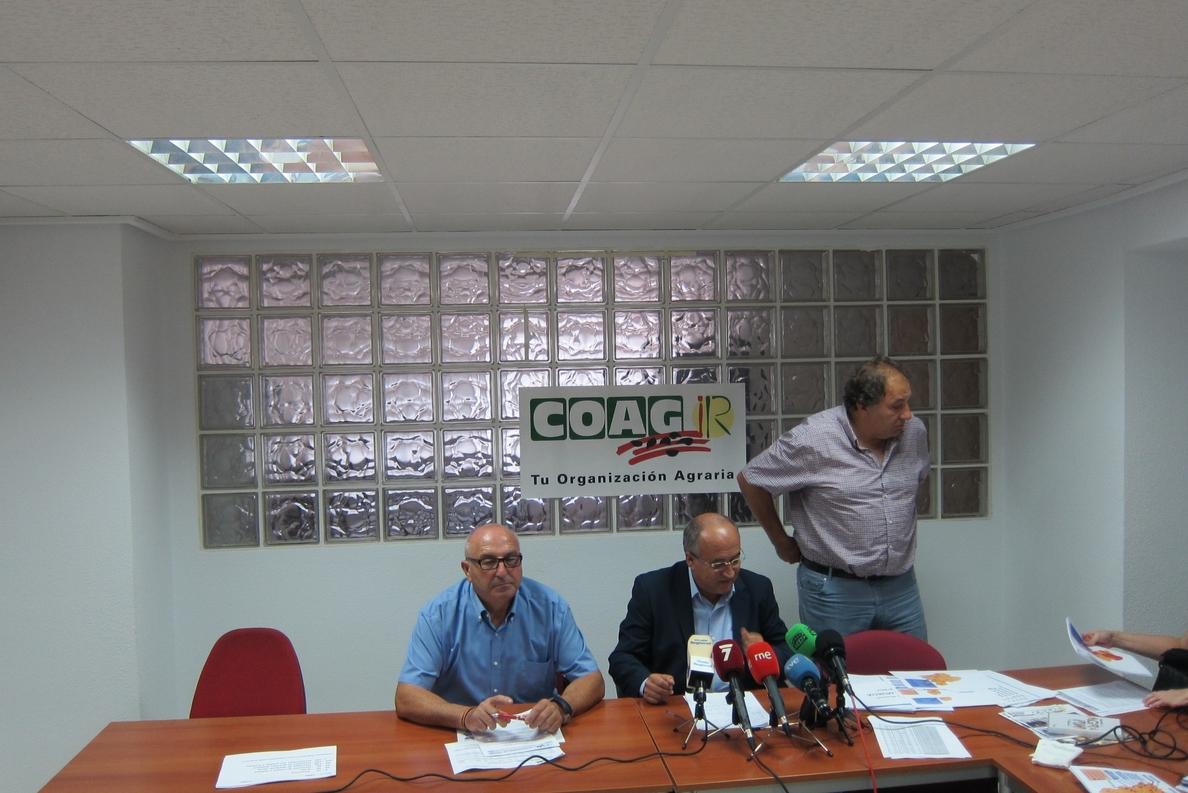 COAG reclama un Plan Hidrológico Nacional para garantizar el futuro de la agricultura y la sociedad de la Región